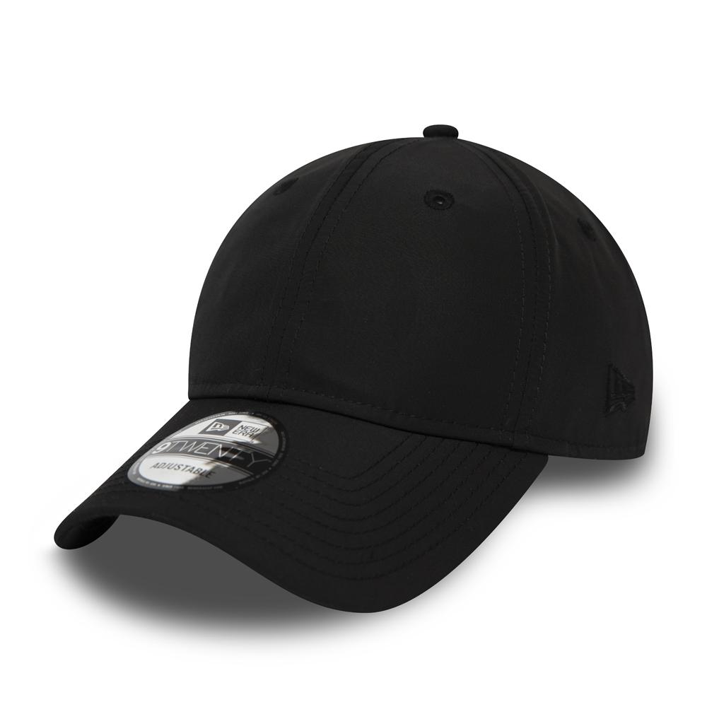 Cappellino New Era 9TWENTY tinta unita nero