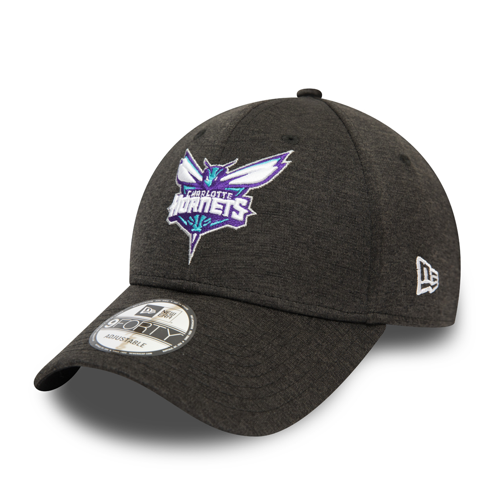 Charlotte Hornets Shadow Tech Black 9FORTY Cap