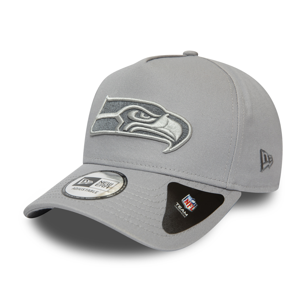 Gorra Seattle Seahawks A-Frame 9FORTY, gris