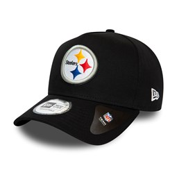 Pittsburgh Steelers Black A-Frame 9FORTY Cap