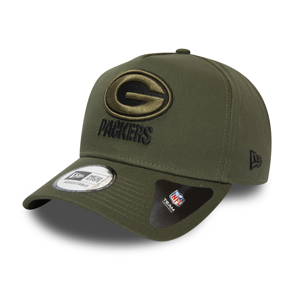Green Bay Packers Green A-Frame 9FORTY Cap