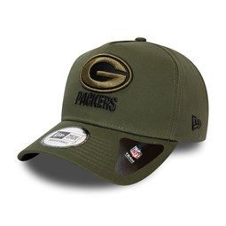 Casquette verte A-Frame 9FORTY Green Bay Packers