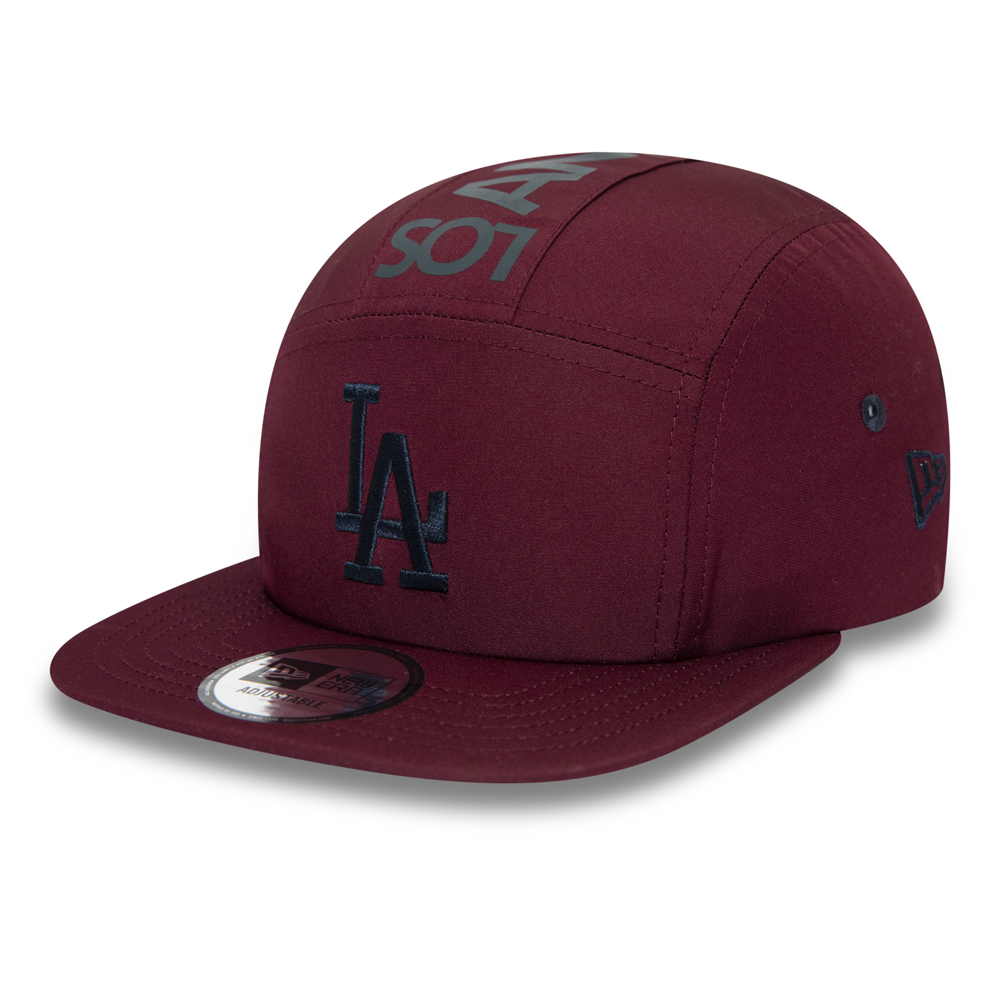 Gorra camper Los Angeles Dodgers, granate