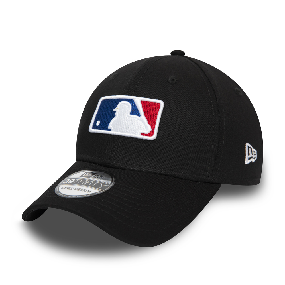 Gorra MLB League Shield 39THIRTY, negro