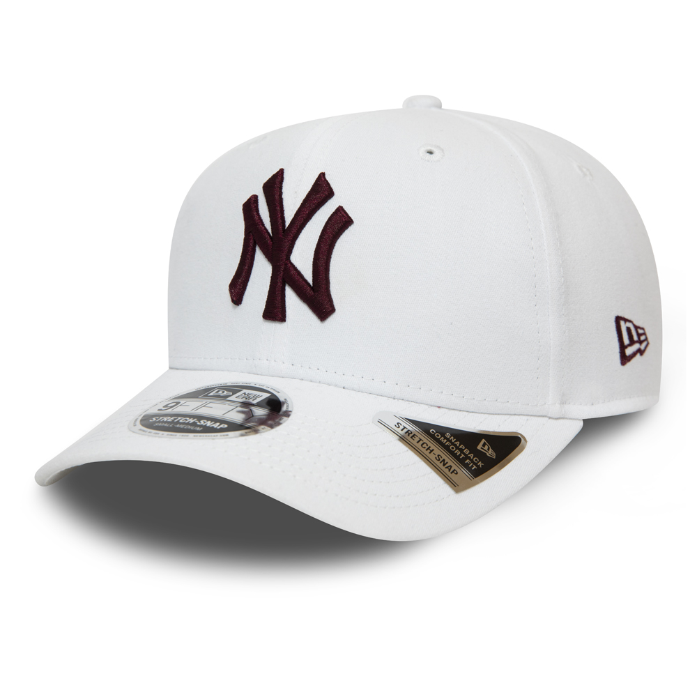 New York Yankees White Stretch Snap 9FIFTY Cap