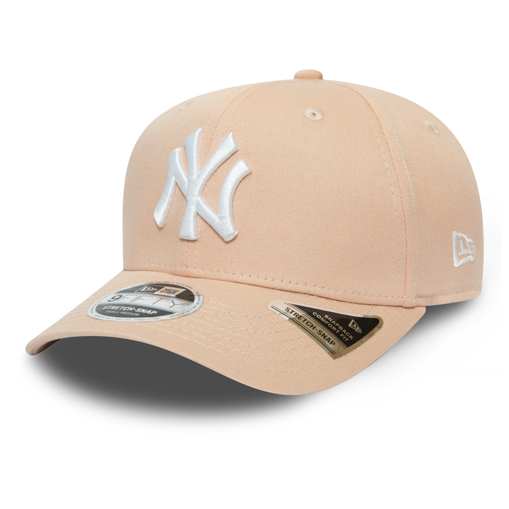 New York Yankees Pink Stretch Snap 9FIFTY Cap