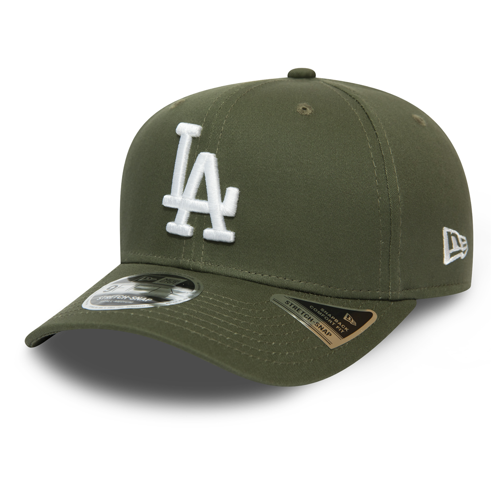 Casquette 9FIFTY Stretch Snap Los Angeles Dodgers vert