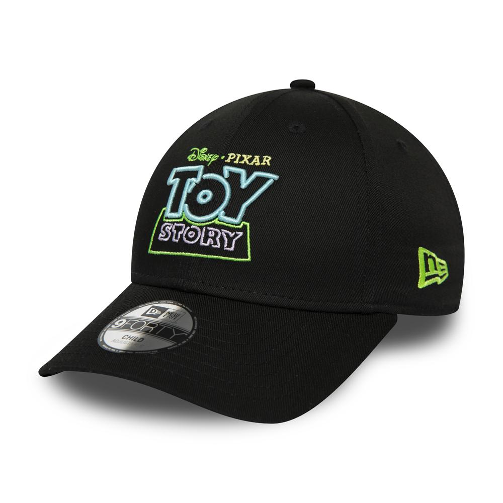 Casquette noire 9FORTY New Era Toy Story pour enfant