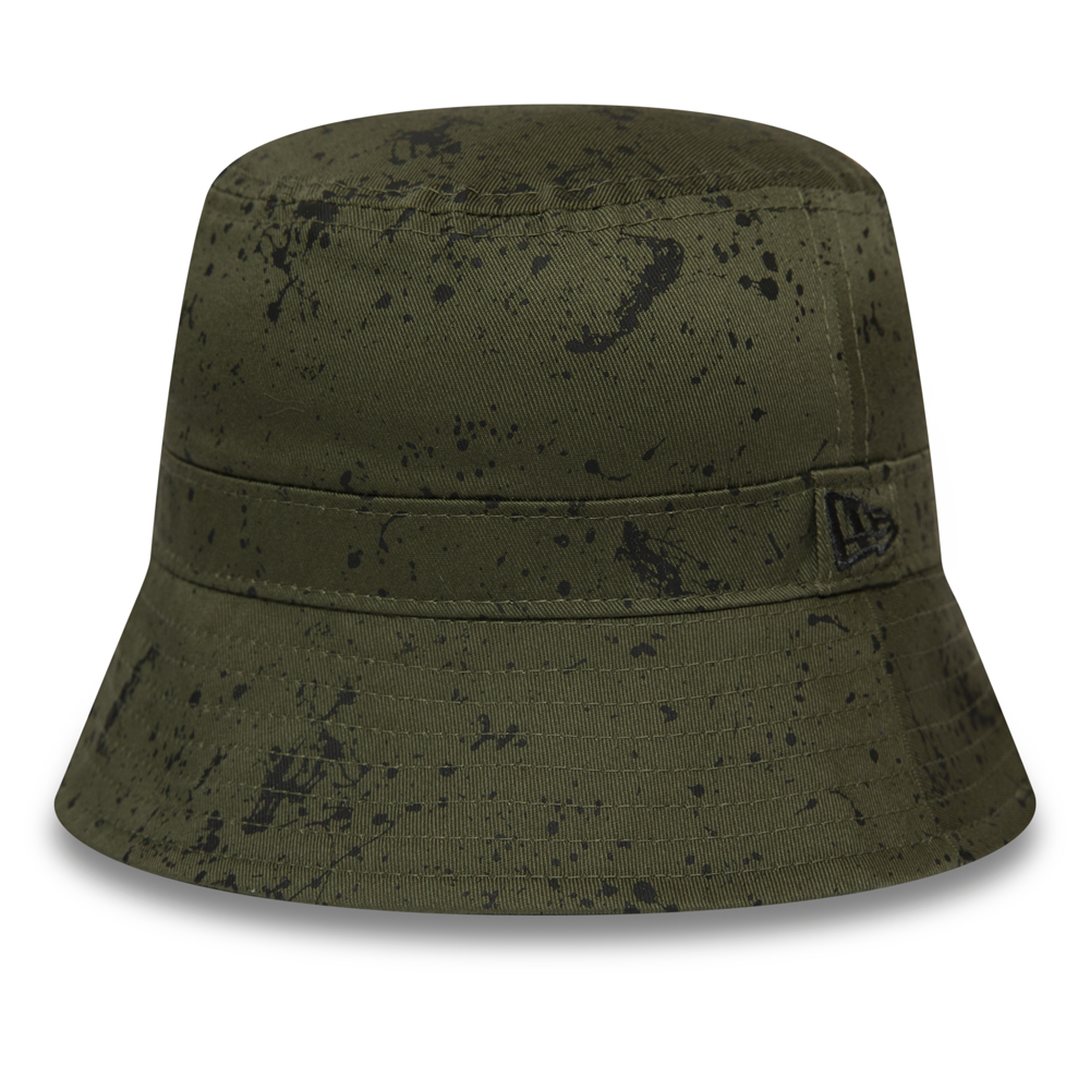 Bob New Era Paint Splatter vert, enfant