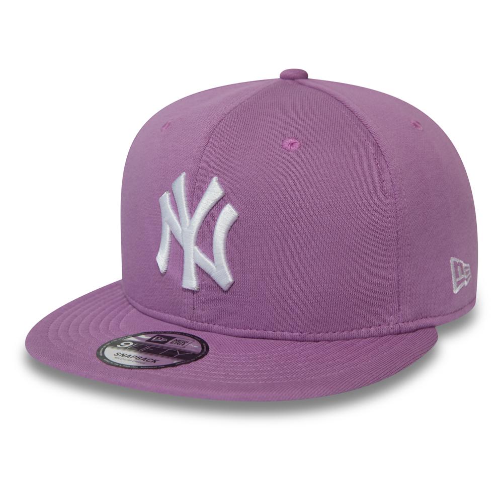 Casquette 9FIFTY en jersey violet des New York Yankees