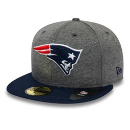 Gorra New England Patriots Jersey Essential 59FIFTY, gris