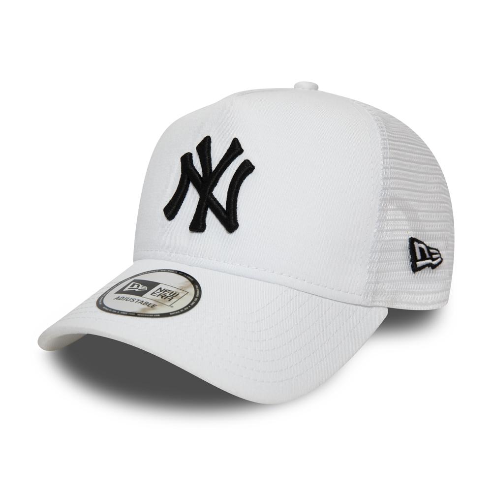 Cappellino Trucker A-Frame New York Yankees bianco