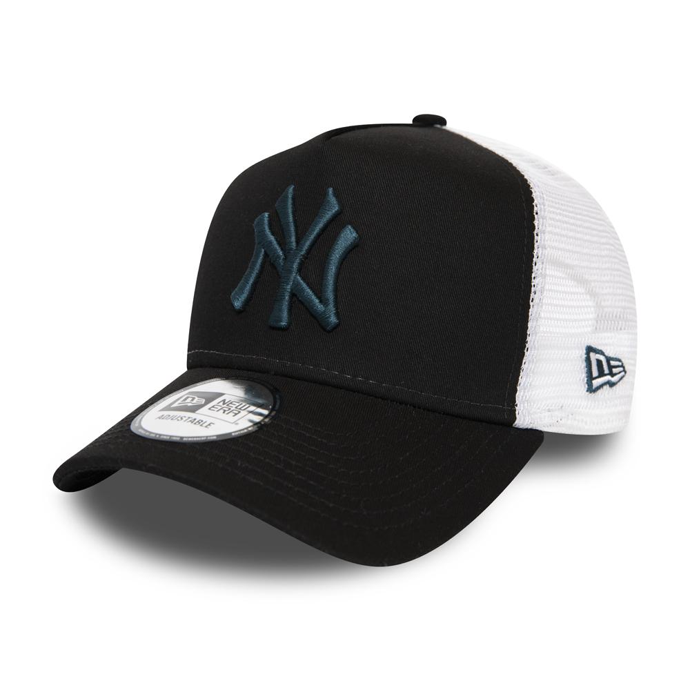 Casquette camionneur noire A-Frame New York Yankees