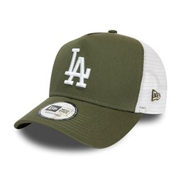 Los Angeles Dodgers Green A-Frame Trucker