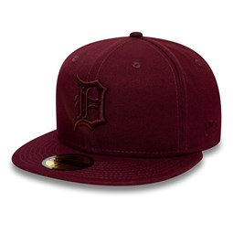 Gorra Detroit Tigers Essential 59FIFTY, granate