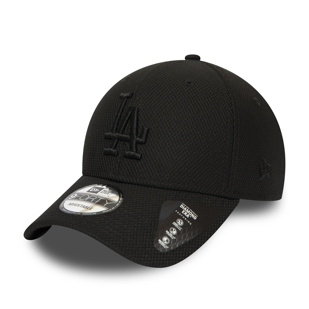 Gorra Los Angeles Dodgers Diamond Era Essential 9FORTY, negro