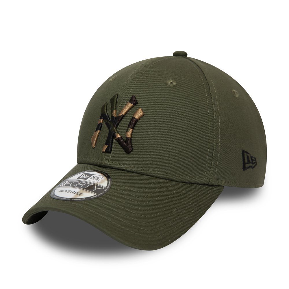 Casquette 9FORTY Camo Infill New York Yankees vert