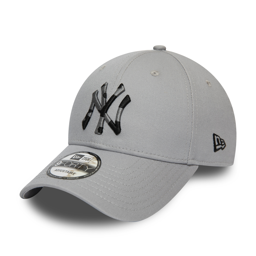 New York Yankees Camo Infill Grey 9FORTY Cap