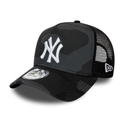 Casquette camionneur camouflage A-Frame essentielle New York Yankees