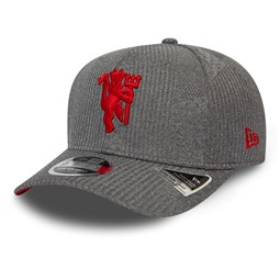 Gorra Manchester United Jersey Stretch Snap 9FIFTY, gris