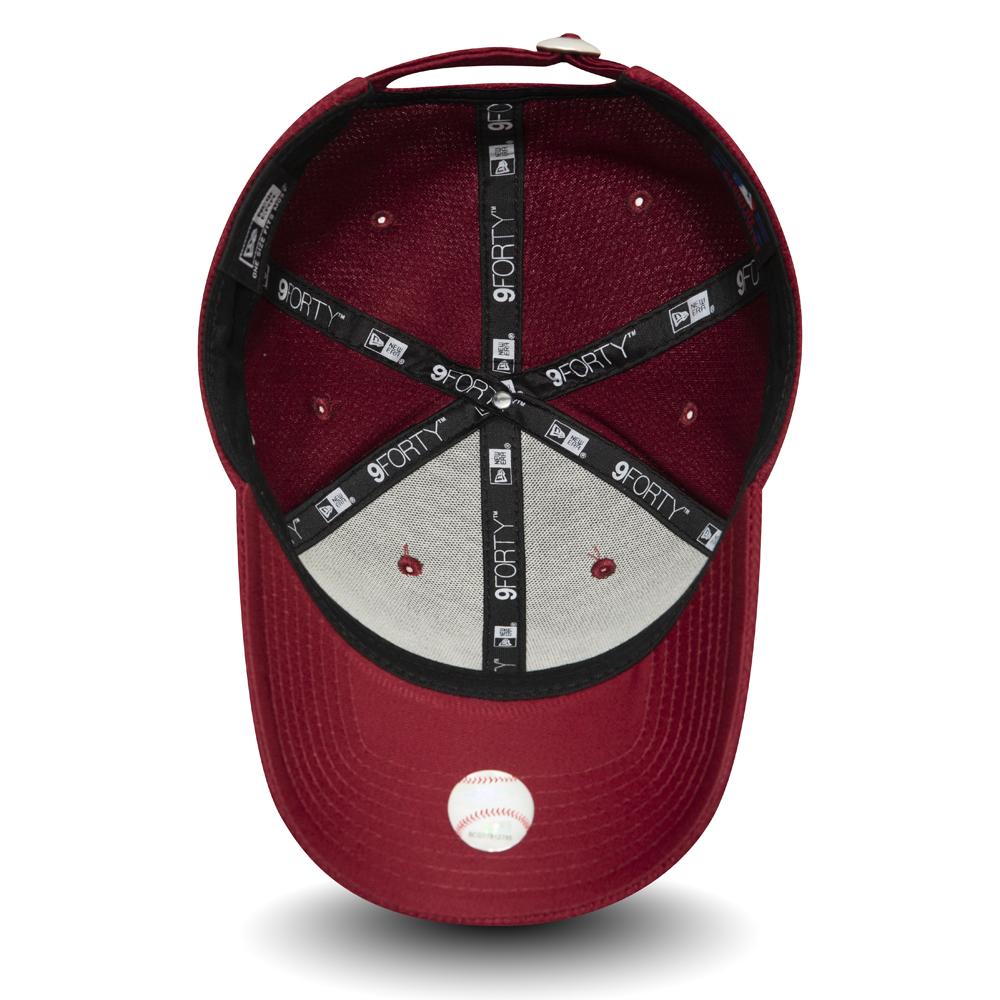 NY Yankees cardinal rot New Era 9Fifty Snapback Cap