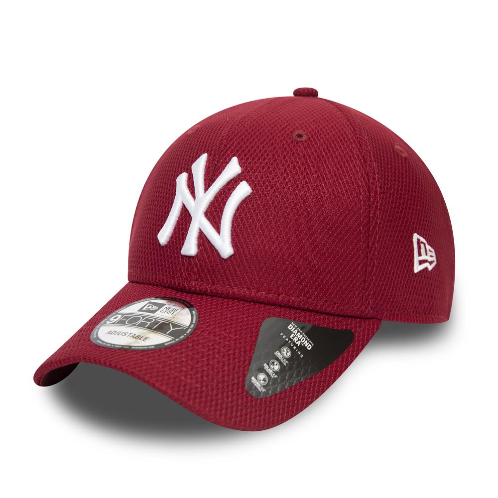 Gorra New York Yankees Diamond Era 9FORTY, rojo
