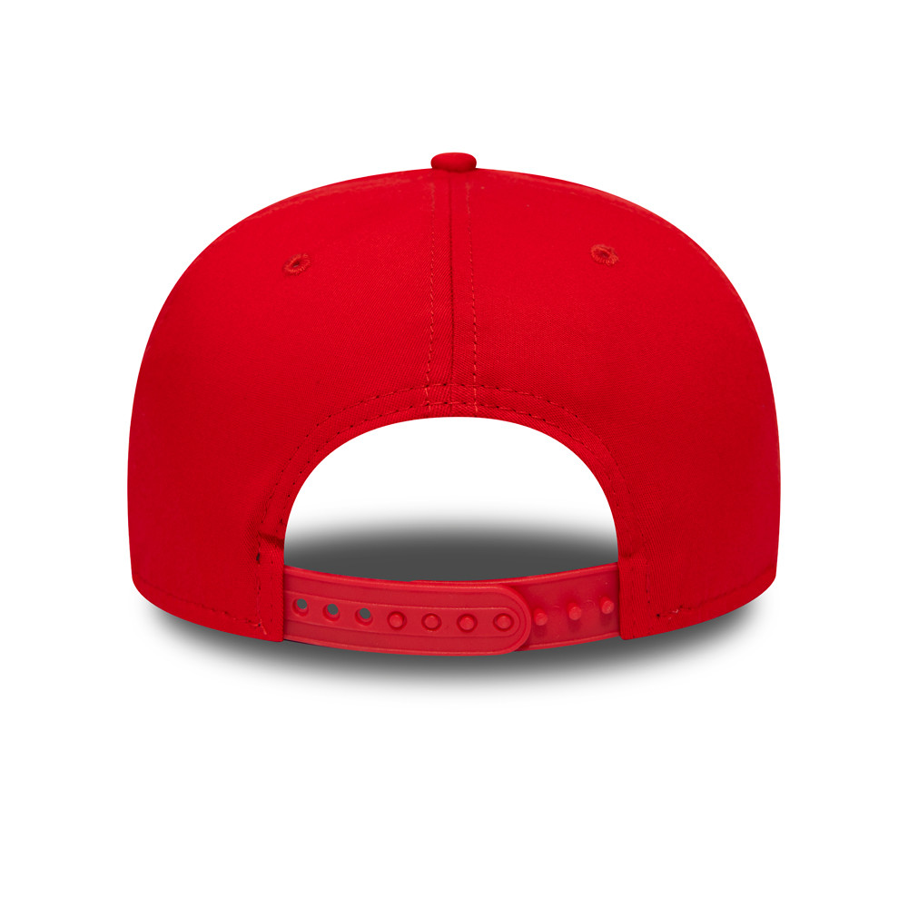 Chicago Bulls Kids Red Stretch Snap 9FIFTY Cap