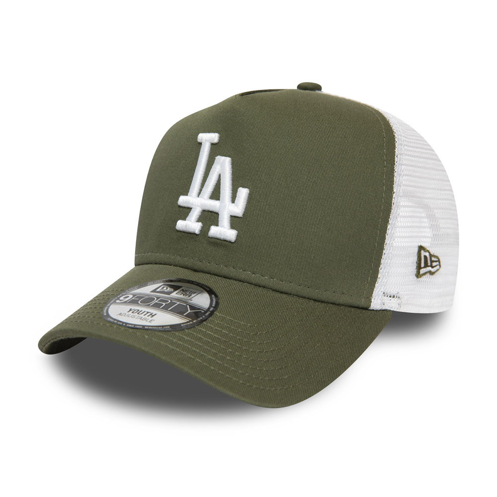 Cappellino Trucker A-Frame Essential Los Angeles Dodgers bambino verde