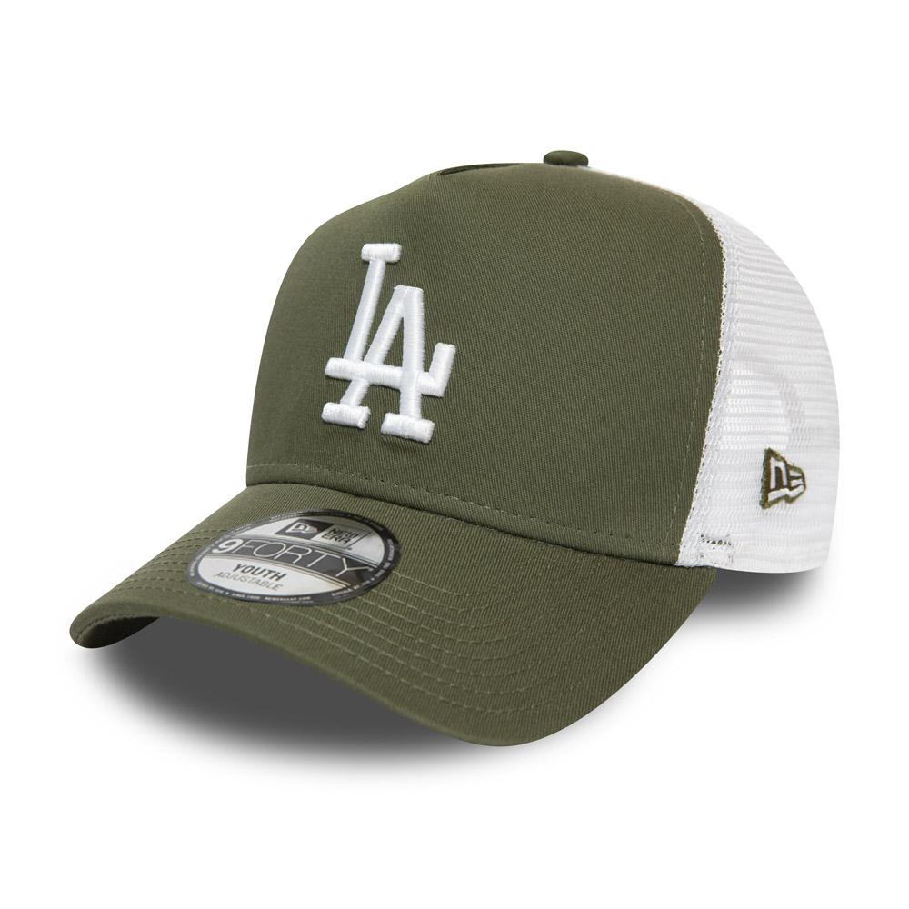 Gorra Trucker A-Frame Los Angeles Dodgers Essential, niño, verde