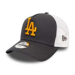 Los Angeles Dodgers Essential Kids Grey A-Frame Trucker