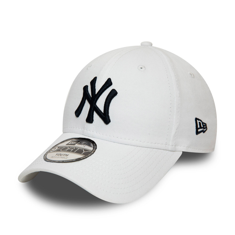 Cappellino New York Yankees Essential 9FORTY bianco bambino