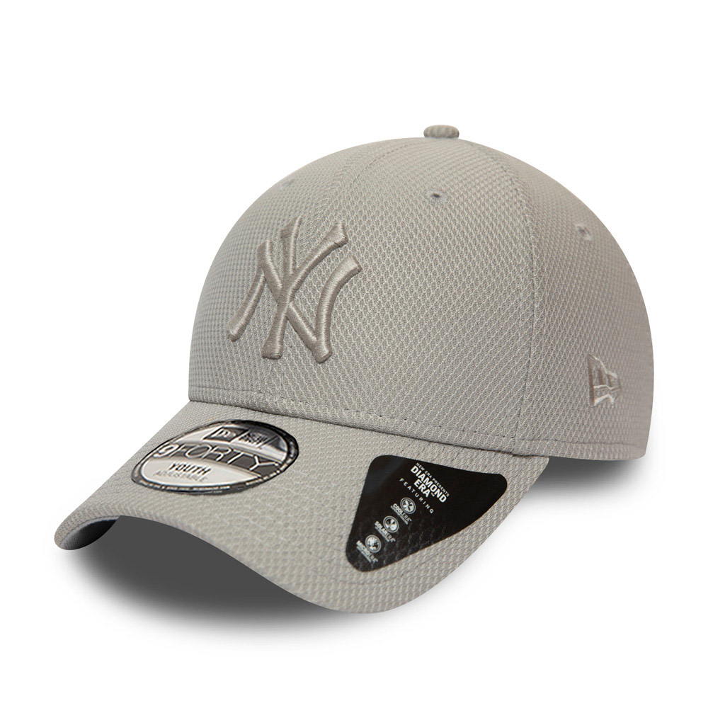 New York Yankees Diamond Era Kids Grey 9FORTY Cap