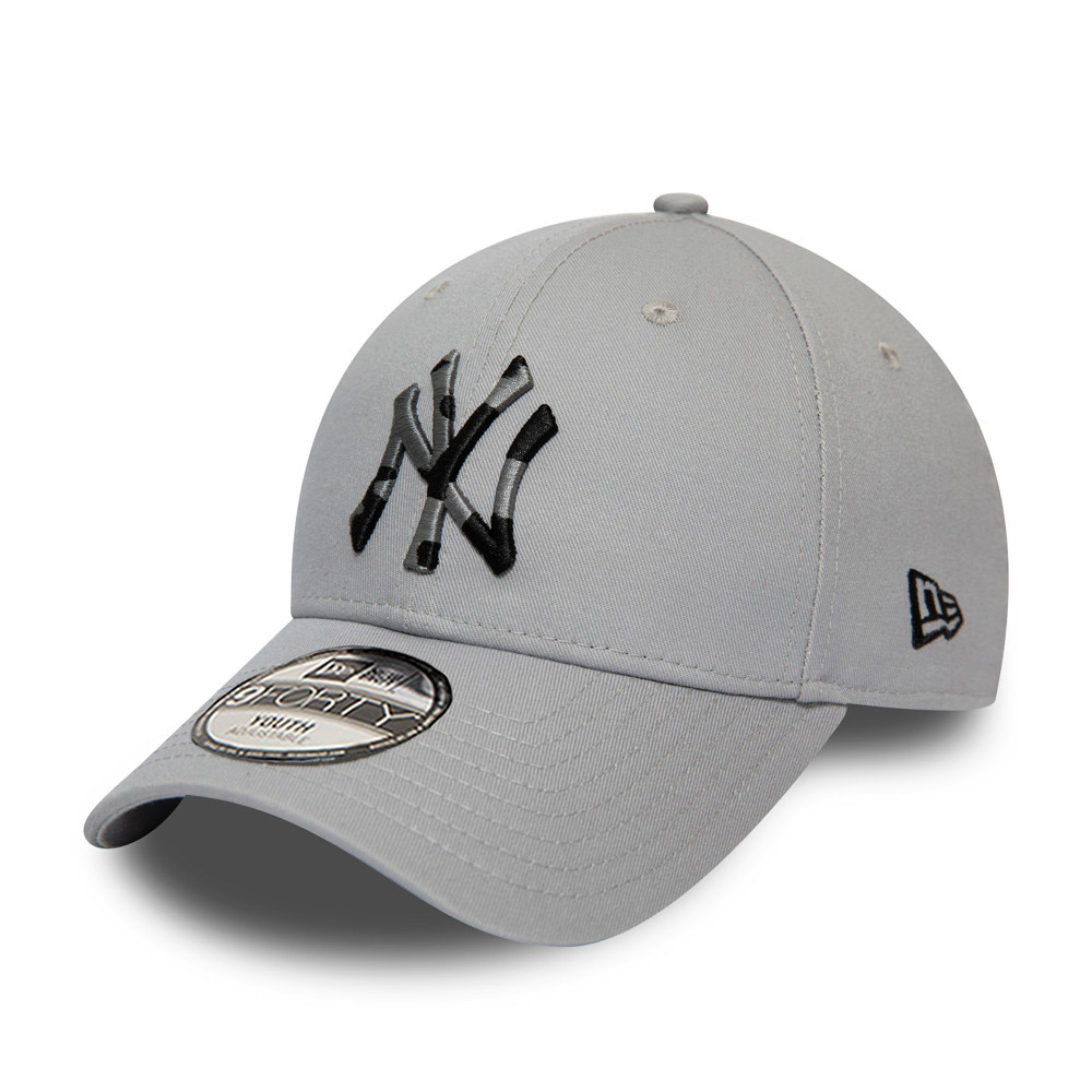 New York Yankees Camo Infill Kids Grey 9FORTY Cap