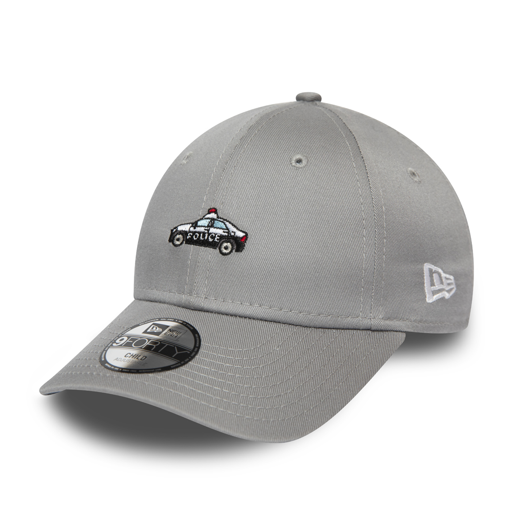 New Era Police Car Infant Grey 9FORTY Cap