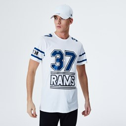 T-shirt blanc Team Established des Rams de Los Angeles