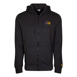 Los Angeles Lakers Gradient Wordmark Grey Hoodie