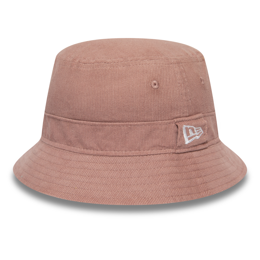 New Era Womens Cord Pastel Pink Bucket