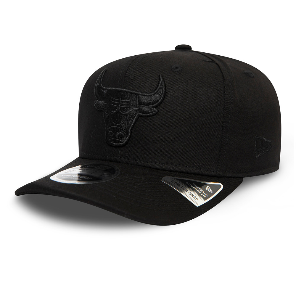 Chicago Bulls Tonal Black 9FIFTY Cap
