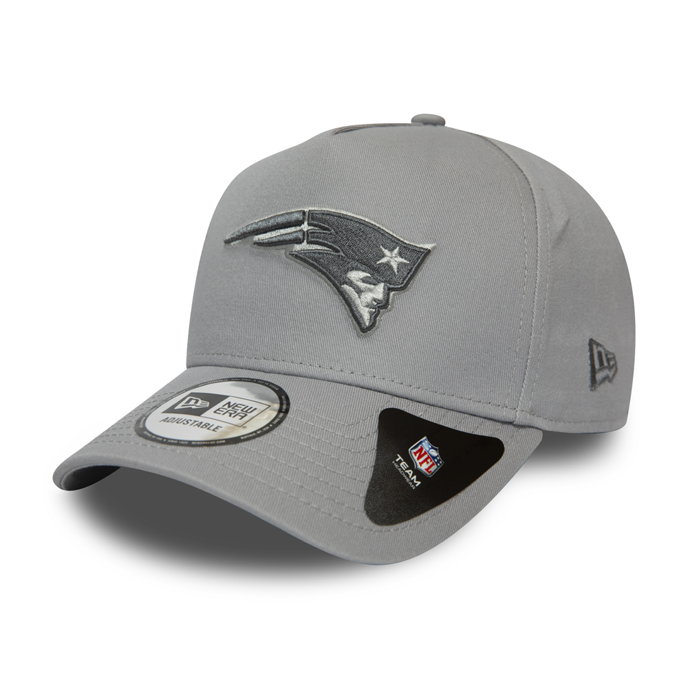 New England Patriots Grey A-Frame 9FORTY Cap