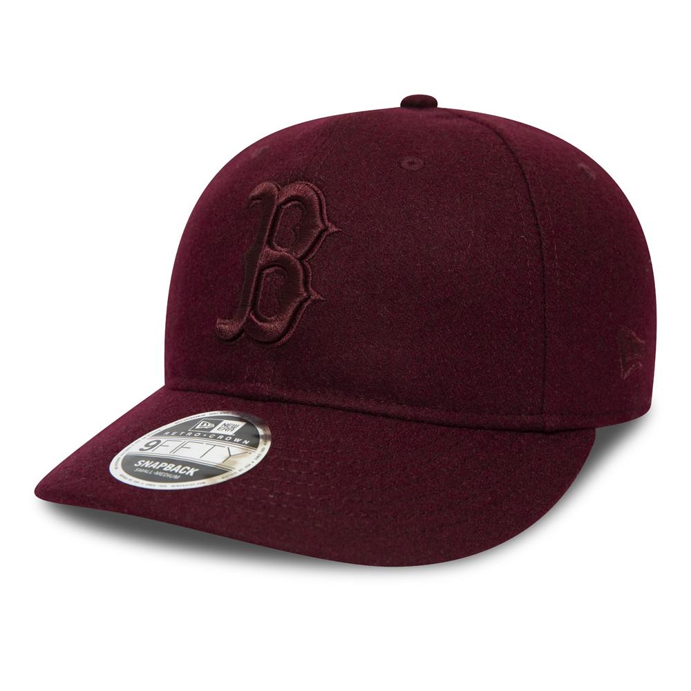 Boston Red Sox–9FIFTY-Kappe mit Clipverschluss in Kastanienbraun