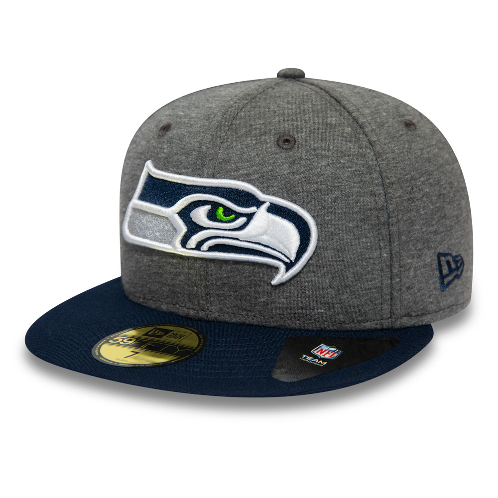 Seattle Seahawks Jersey Essential Grey 59FIFTY Cap