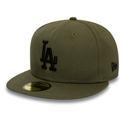 Casquette 59FIFTY Essential Los Angeles Dodgers vert