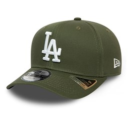Cappellino 9FIFTY Stretch Snap League Essential dei Los Angeles Dodgers verde bambino