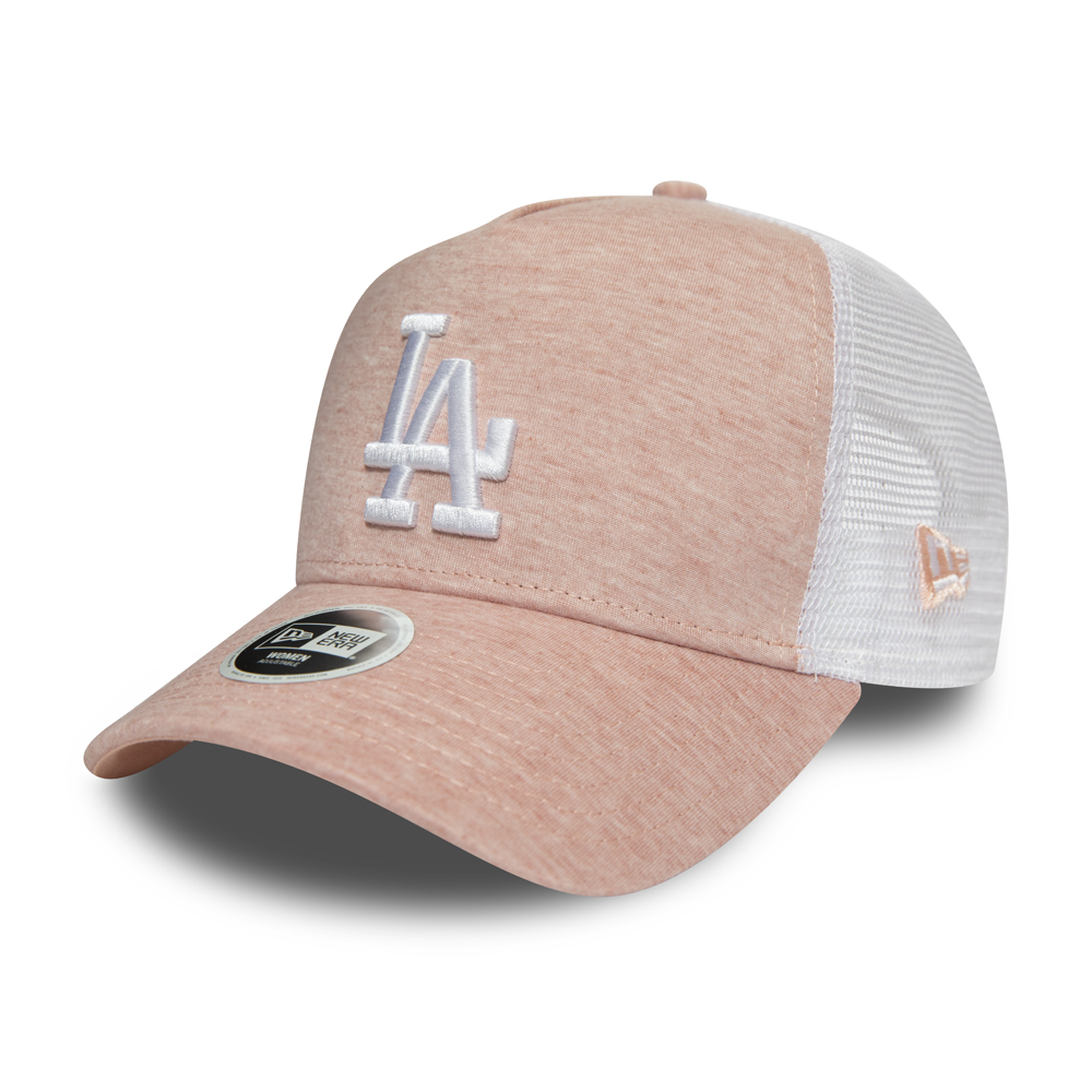 Gorra trucker Los Angeles Dodgers Jersey Essential A-Frame, mujer, rosa