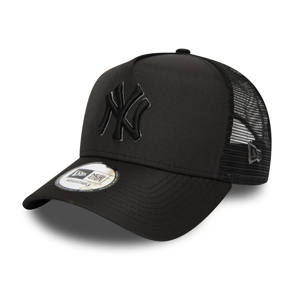 Trucker A-Frame dei New York Yankees nero tono su tono
