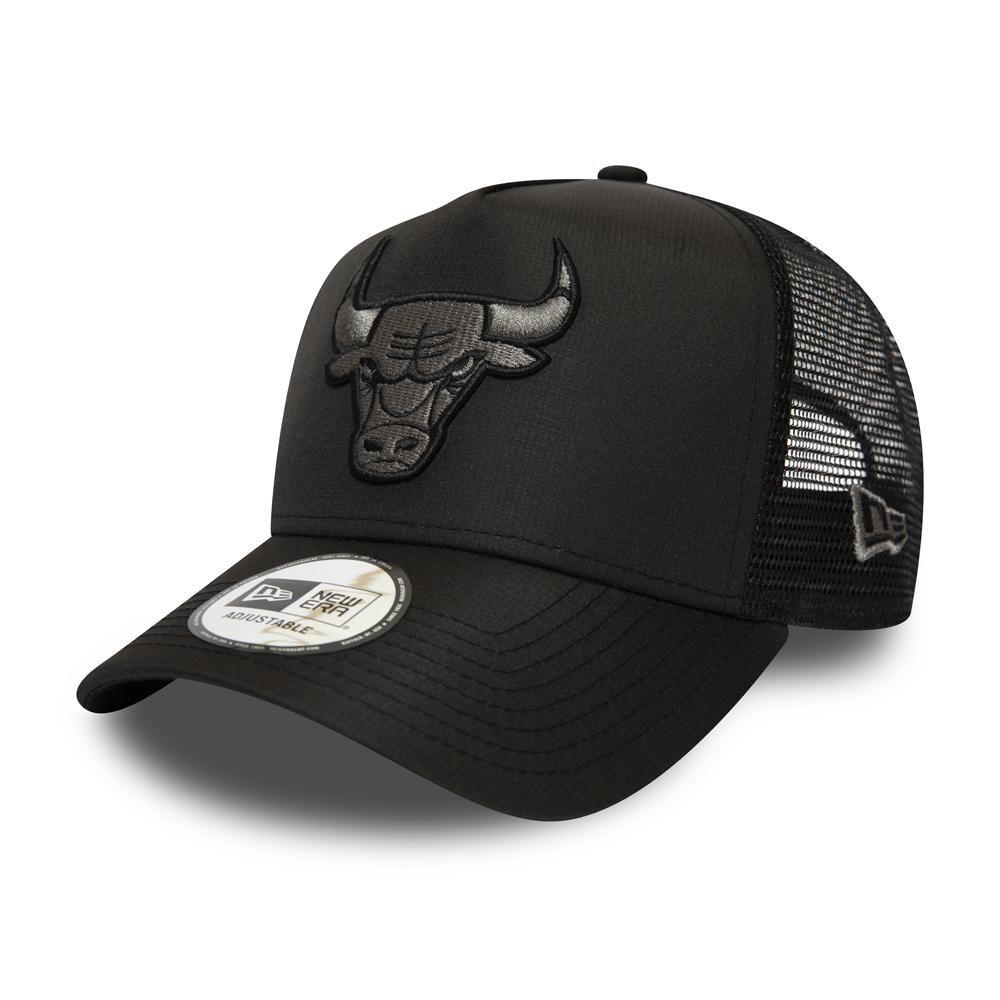 Chicago Bulls Ton in Ton Trucker-Kappe mit A-Frame in Schwarz
