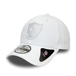 Oakland Raiders White 39THIRTY Cap