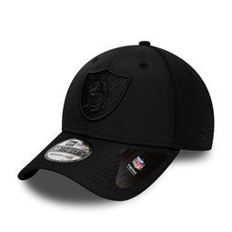 Oakland Raiders Black 39THIRTY Cap