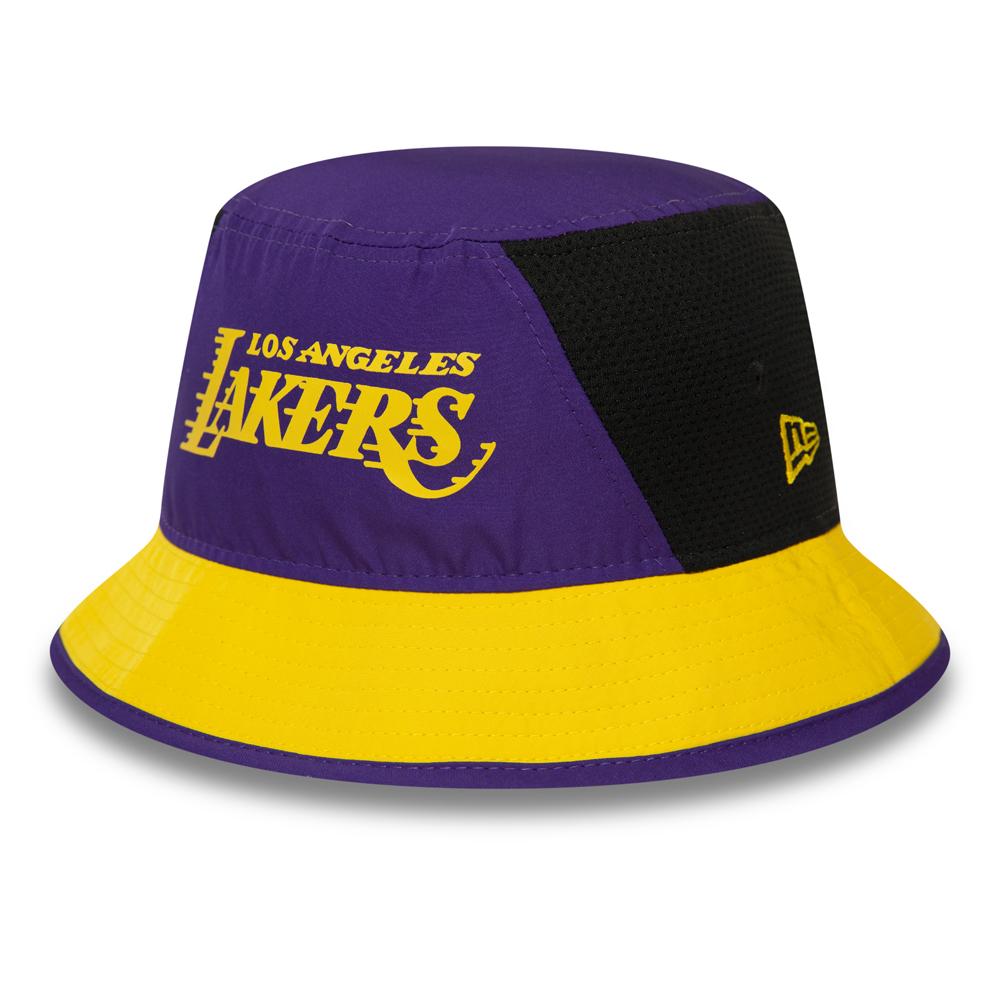 Gorro estilo pescador Los Angeles Lakers, morado