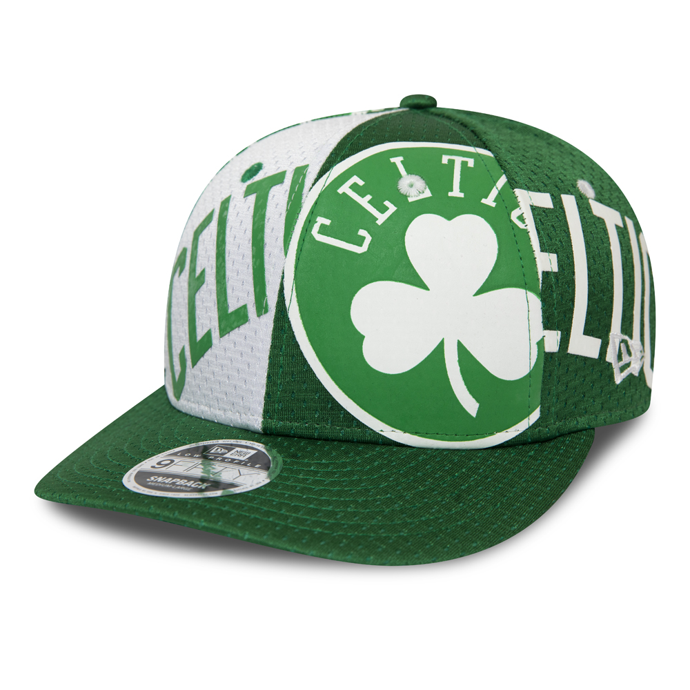 Boston Celtics All Over Low Profile Green 9FIFTY Cap
